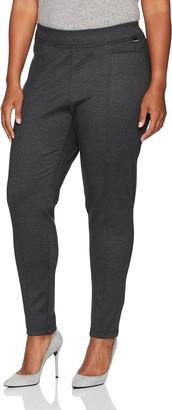 Calvin Klein Women's Plus Size Birdseye Compression Pant