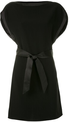 Emporio Armani Belted Cocktail Dress