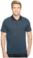 Calvin Klein All Over Printed Logo Polo Shirt Men's Short Sleeve Pullover