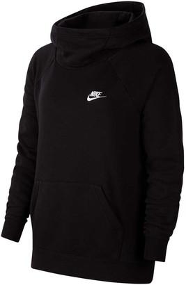 Nike Womens Sportswear Essentials Funnel Neck Fleece Hoodie