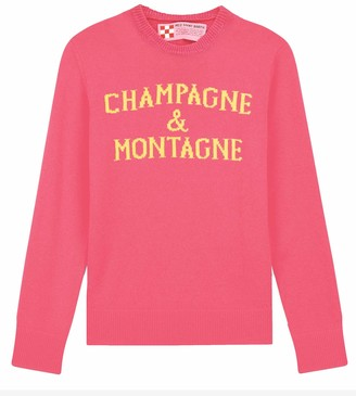 MC2 Saint Barth Champagne & Montagne Pink Fluo Womans Sweater