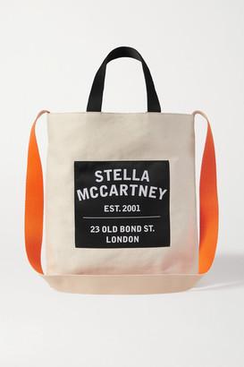 Stella McCartney Printed Canvas Tote - Beige