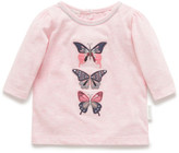 Purebaby Butterfly tee