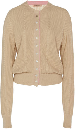 Maggie Marilyn Pearls Of Wisdom Wool-Blend Cardigan