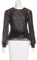 RED Valentino Lace Long Sleeve Top w/ Tags