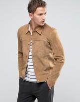 Selected Suede Western Jacket