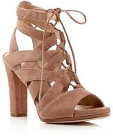 Via Spiga Collette High Heel Lace Up Sandals