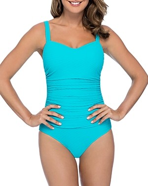 Gottex Ribbons D-Cup One Piece Swimsuit