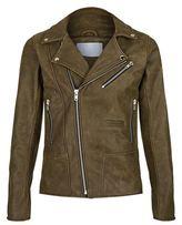 Adyn Leather Biker Jacket