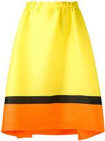 Pleats Please By Issey Miyake - horizontal pleat skirt - women - Polyester - 3