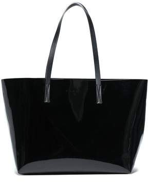 Marni Faux Patent-leather Tote