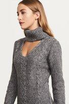 Dynamite Choker Sweater Dress