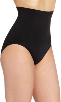 Flexee Maidenform Women's Shapewear Seamless Hi-Waist Brief