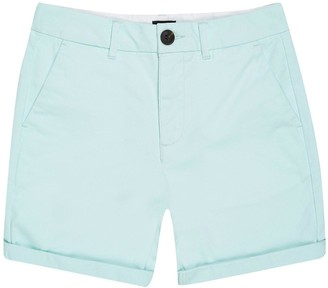 River Island Boys Chino Shorts - Mint