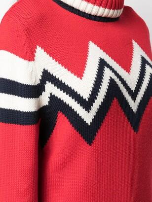 Perfect Moment Alpine roll neck jumper
