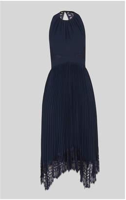 Whistles Lana Lace Pleat Dress