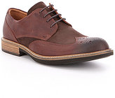 Ecco Men's Kenton Brogue Vintage Leather Lace-Up Wing Tip Oxfords