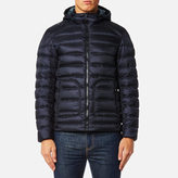 Belstaff Men's Fullarton Down Blouson Jacket Dark Ink