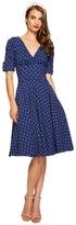 Unique Vintage Stretch Novelty Delores Dress Women's Dress