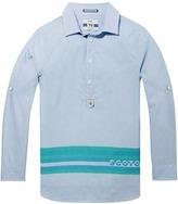 Scotch & Soda Long Fit Kaftan Shirt
