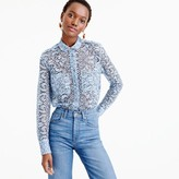 J.Crew Collection shirt in French lace