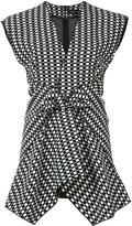 Proenza Schouler checkered blouse - women - Silk/Viscose - 4