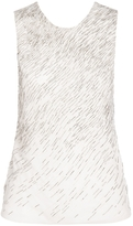 Jason Wu Drape Back Embellished Top