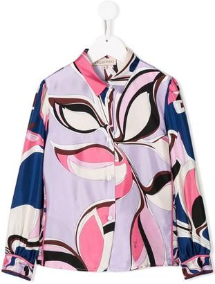 Emilio Pucci Junior Graphic Print Shirt
