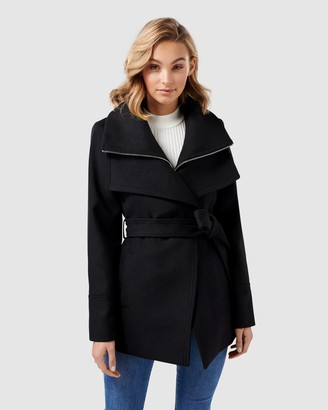 Forever New April Cropped Coat