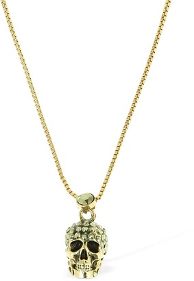 Alexander McQueen Pave Skull Necklace