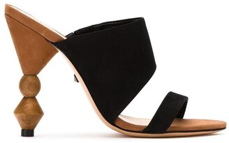Schutz S2061800030003 BLACK Leather/Fur/Exotic Skins->Leather