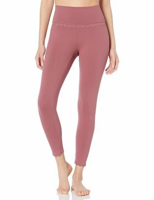 "Core 10 Women's Standard Studiotech Icon Series High Waist 'Scallop' Yoga Legging-26"""