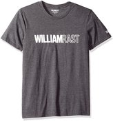 William Rast Men's WR Logo Short Sleeve T-Shirt, Dark Grey