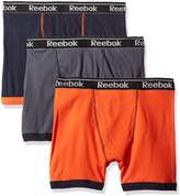 Reebok Men's Gift Box: 3pk Cotton Boxer Brief (Fly)
