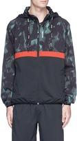 The Upside 'Sketchy Camo' packable hood jacket
