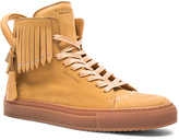 Buscemi 125MM Fringe Stud Sneakers