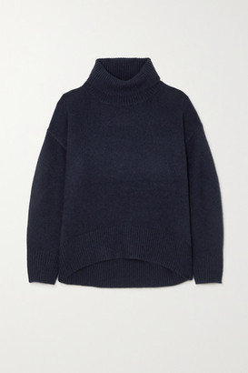 Arch4 World's End Cashmere Turtleneck Sweater - Navy