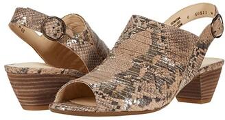 Paul Green Cheri Sandal (Black Sport Nubuck) Women's Shoes