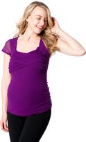 Motherhood Twist Front Maternity T Shirt