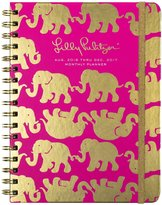 Lilly Pulitzer 17-Month Planner, Monthly View - Tusk in Sun