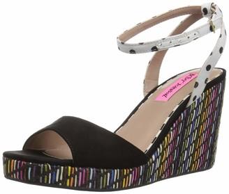 Betsey Johnson Women's DOTIE Wedge Sandal