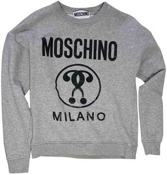Moschino Grey Cotton Knitwear & Sweatshirts