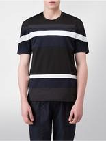 Calvin Klein Platinum Relaxed Fit Interlocked Stripe T-Shirt