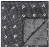 Topman Skull Dot Pocket Square