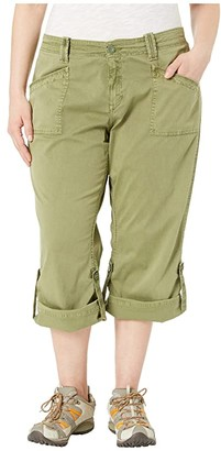 Aventura Clothing Plus Size Addie V2 Capris (Olivine) Women's Capri