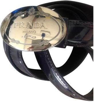 Prada Purple Patent leather Belts