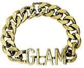 Steve Madden Glam Curb Bangle Bracelet