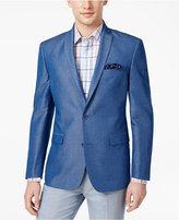 Bar III Men's Slim-Fit Medium Blue Sport Coat, Created for Macy's