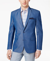 Bar III Men's Slim-Fit Medium Blue Sport Coat, Only at Macy's