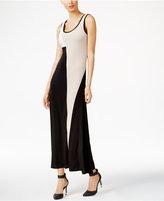 Calvin Klein Colorblocked Maxi Dress